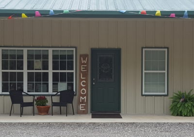 Front Porch, Office, Community Bldg