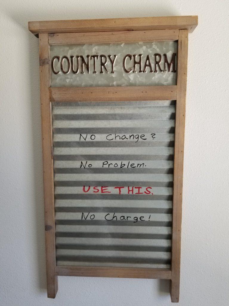 Country Charm RV Park Living