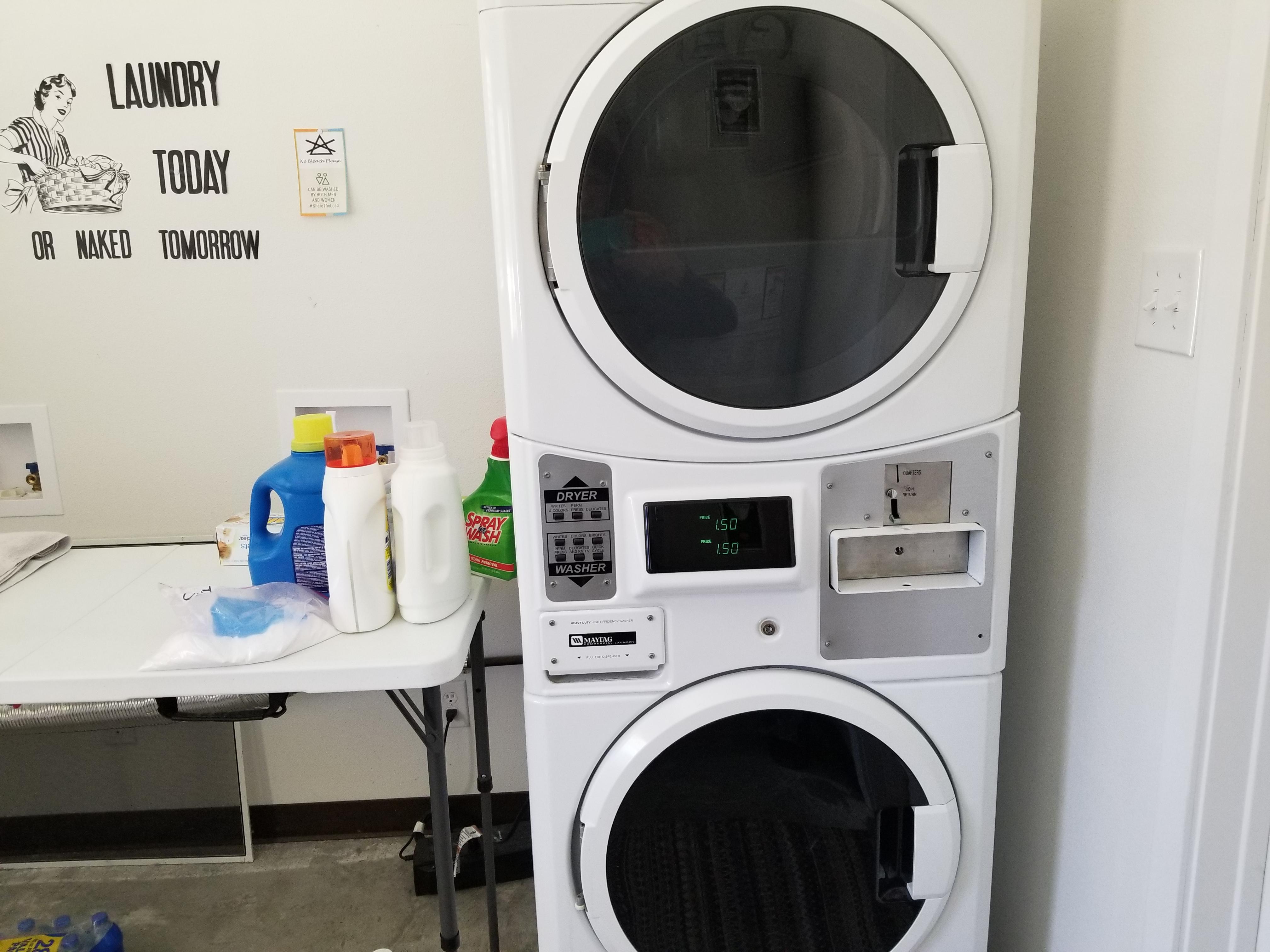 Laundry at Providence RV Park