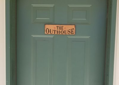 to the Outhouse