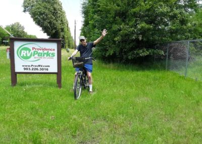 Park biker