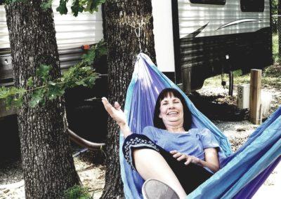 Relax in Hammock at RV Park