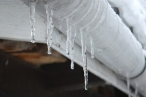 Change of season may bring icy pipes