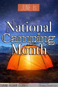 June Celebrates Camping